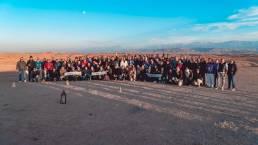 foto di gruppo evento calf a marrakech