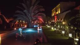 struttura per evento con piscina a marrakech