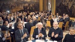 cena e ospiti evento