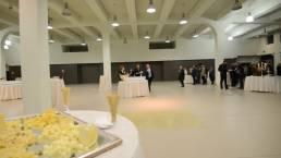 ospiti e sala post congresso