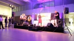 musicisti durante l'evento